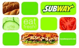 Subway-Gift-Card-Eat-Fresh