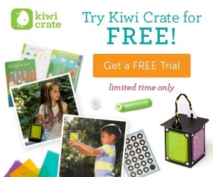 Free My Glowworm Friend and Free Trial of Kiwi Crate