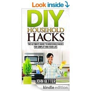 Free Kindle eBook DIY Household Hacks