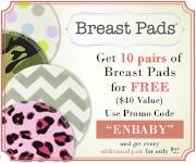 Free Designer Breast Pads