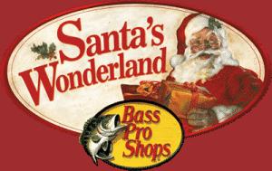 Santas Wonderland at Select Bass Pro Shop Locations