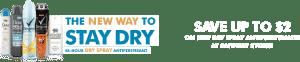 Free Dry Spray Antiperspirant