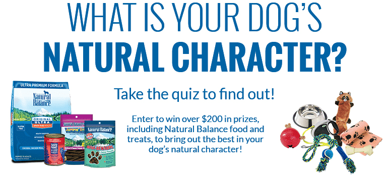 Natural Balance Dog Food Coupons >> Reminder: Enter the Natural Balance Sweepstakes to Win Free Dog Treats