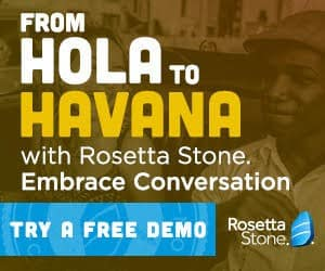rosetta stone trial