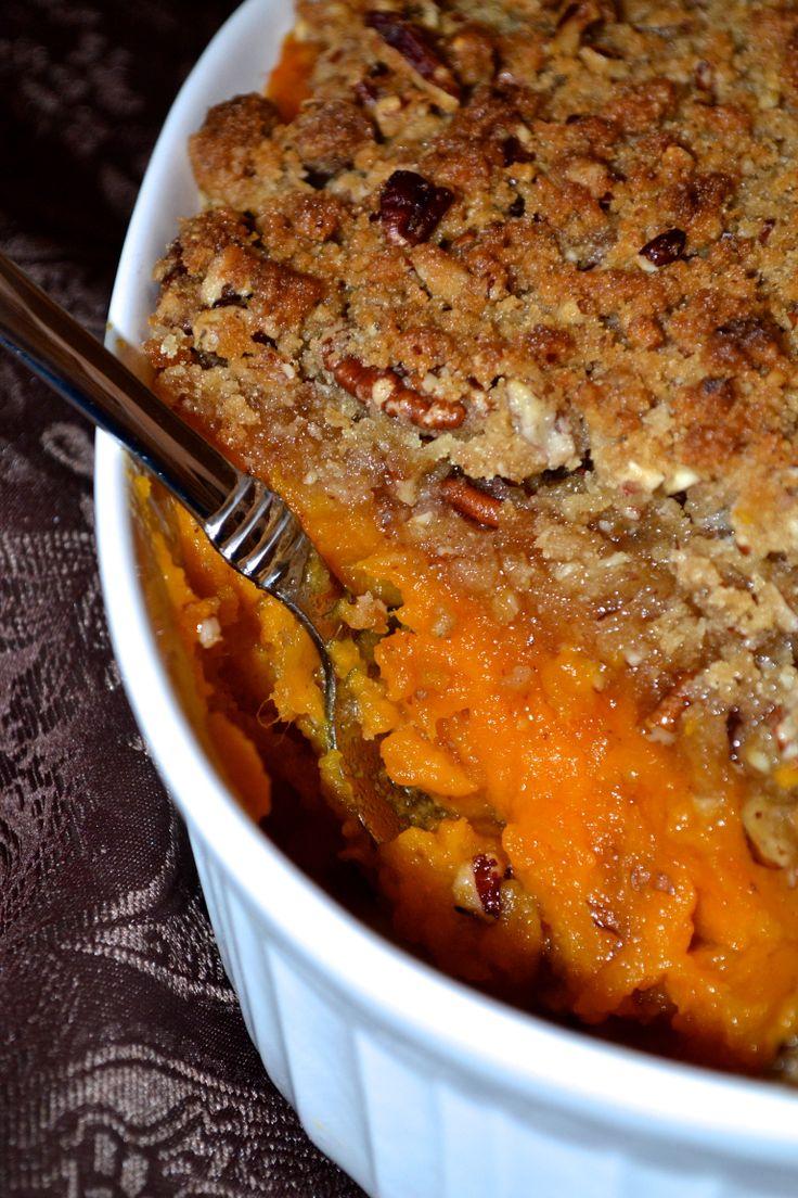 how long to bake sweet potato casserole