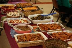 Potluck Thanksgiving!