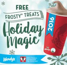 free wendys frosty
