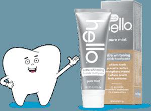 Hello Extra Whitening Toothpaste